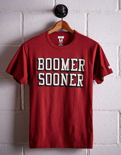 Tailgate Men's Oklahoma Boomer Sooner T-Shirt - Free returns