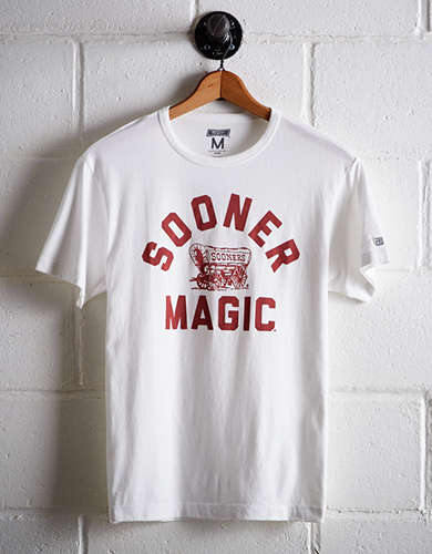 Tailgate Men's Oklahoma Sooner Magic T-Shirt - Free returns