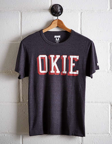 Tailgate Men's Oklahoma OKIE T-Shirt - Free Shipping + Free Returns