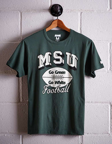 Tailgate Men's Michigan State Go Green T-Shirt - Free returns