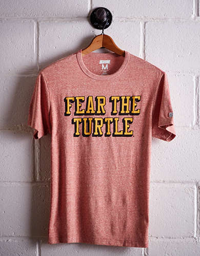 Tailgate Men's UMD Fear The Turtle T-Shirt -