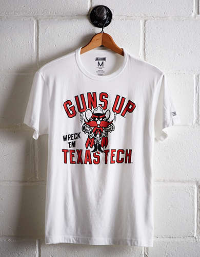 Tailgate Men's Texas Tech Guns Up T-Shirt - Free Returns