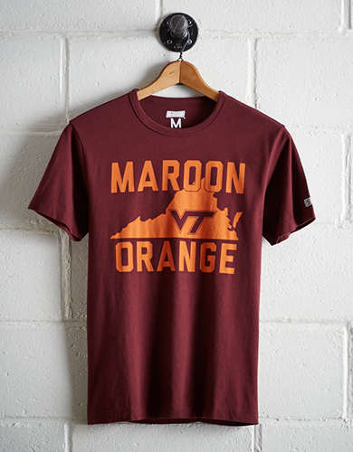 Tailgate Men's Virginia Tech T-Shirt - Free Returns