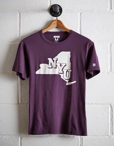 Tailgate Men's NYU Violets T-Shirt - Free returns