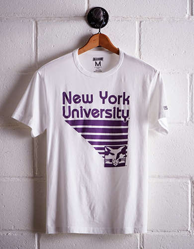 Tailgate Men's NYU Retro T-Shirt - Free returns