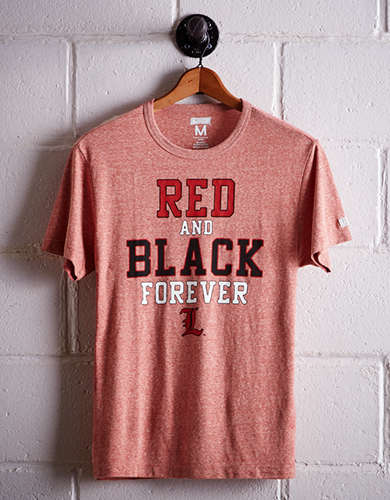 Tailgate Men's Louisville Red & Black T-Shirt - Free Returns