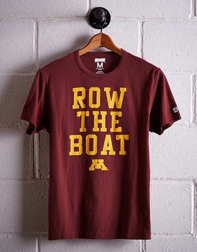 Tailgate Men's Minnesota Row The Boat T-Shirt - Free Returns