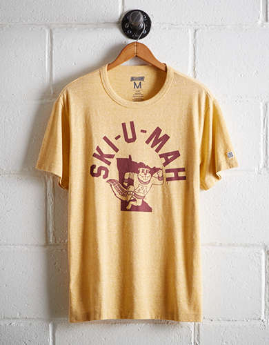 Tailgate Men's Minnesota Ski-U-Mah T-Shirt - Free Returns