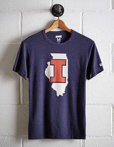 Tailgate Men's Illinois State T-Shirt - Free Returns