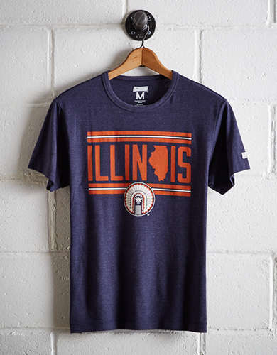 Tailgate Men's Illinois Fighting Illini T-Shirt - Free returns