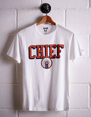 Tailgate Men's Illinois Chief T-Shirt - Free returns