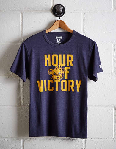 Tailgate Men's California Hour Of Victory T-Shirt - Free Returns