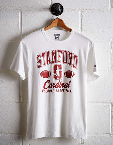 Tailgate Men's Stanford Farm T-Shirt - Free Returns