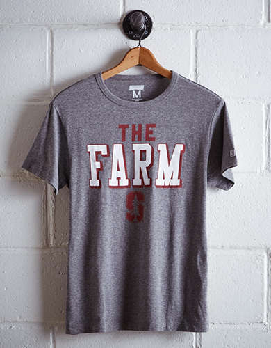 Tailgate Men's Stanford The Farm T-Shirt - Free Returns