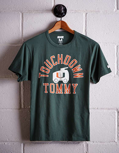 Tailgate Men's Miami Touchdown Tommy T-Shirt - Free Returns
