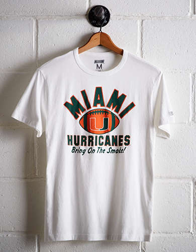 Tailgate Men's Miami Bring On The Smoke T-Shirt -
