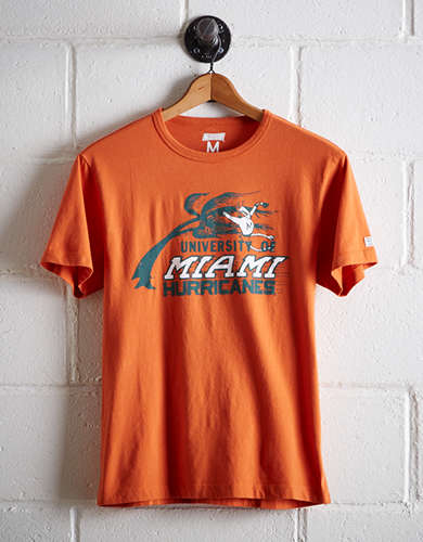 Tailgate Men's Miami Hurricanes T-Shirt - Free Returns