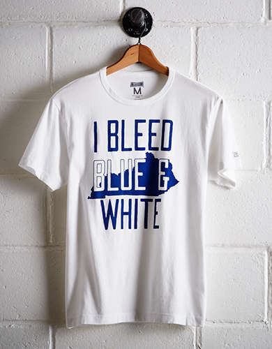 Tailgate Men's Kentucky Blue & White T-Shirt - Free Returns