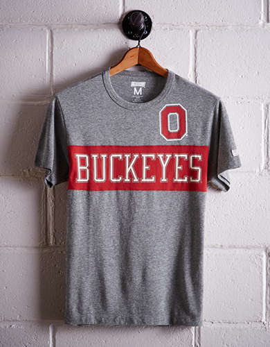 Tailgate Men's Ohio State Colorblock T-Shirt - Buy One Get One 50% Off