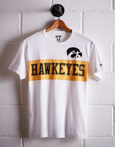 Tailgate Men's Iowa Colorblock T-Shirt - Free returns