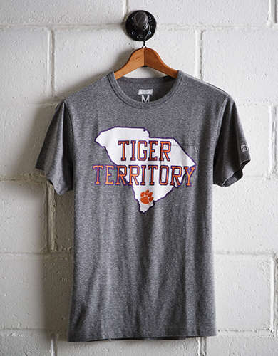 Tailgate Men's Clemson Pocket T-Shirt -