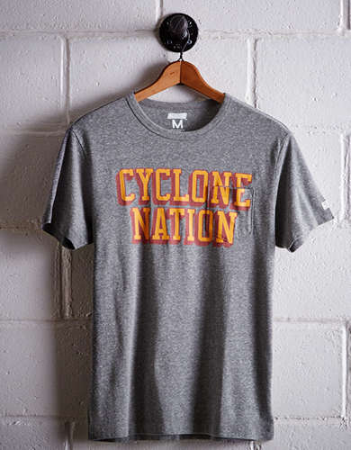 Tailgate Men's Iowa State Pocket T-Shirt - Free returns