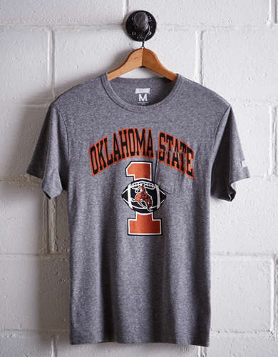 Tailgate Men's Oklahoma State Pocket T-Shirt - Free Returns