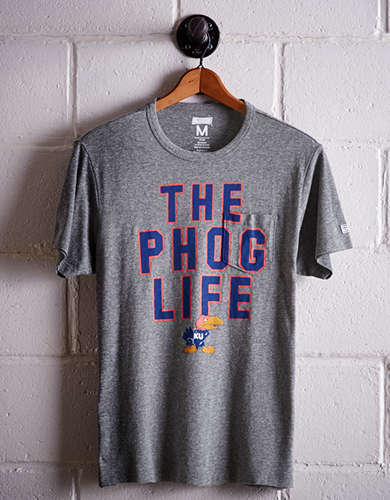 Tailgate Men's Kansas Pocket T-Shirt - Free Returns
