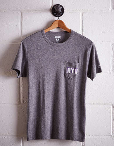 Tailgate Men's NYU Pocket T-Shirt - Free returns