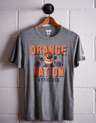 Tailgate Men's Syracuse Pocket T-Shirt - Free Returns