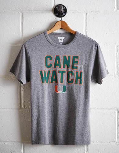 Tailgate Men's Miami Pocket T-Shirt - Free Returns