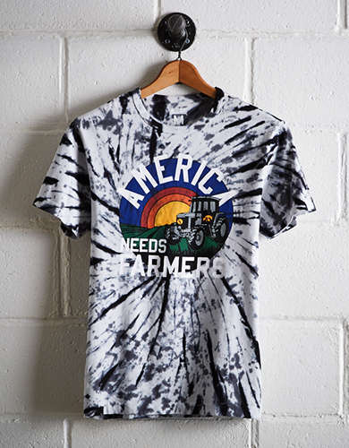 Tailgate Men's Iowa Tie-Dye T-Shirt - Free Returns