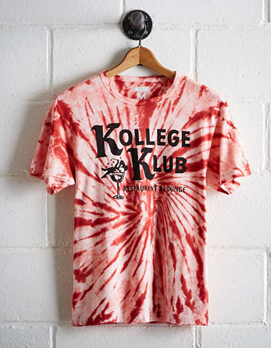 Tailgate Men's Wisconsin Tie-Dye T-Shirt - Free Returns