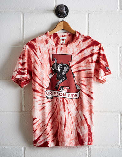 Tailgate Men's Alabama Tie-Dye T-Shirt - Free returns