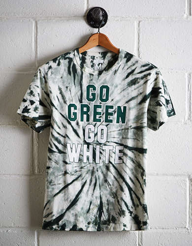 Tailgate Men's Michigan State Tie-Dye T-Shirt - Free returns