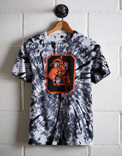 Tailgate Men's Oklahoma State Tie-Dye T-Shirt - Buy One Get One 50% Off