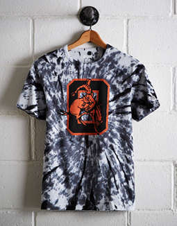 Tailgate Men's Oklahoma State Tie-Dye T-Shirt