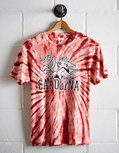 Tailgate Men's South Carolina Tie-Dye T-Shirt - Free Shipping + Free Returns
