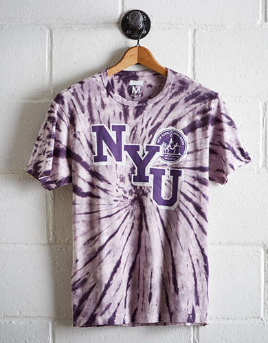 Tailgate Men's NYU Tie-Dye T-Shirt - Free returns