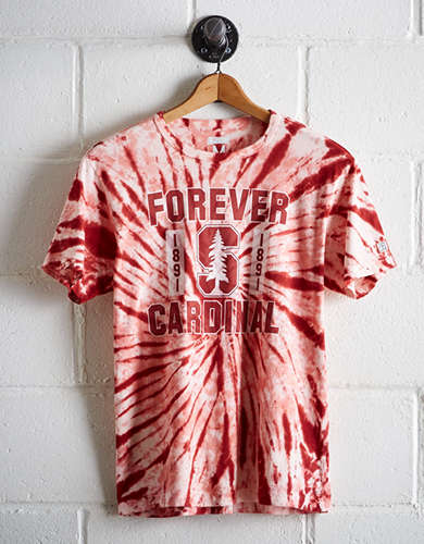 Tailgate Men's Stanford Tie-Dye T-Shirt - Free Returns