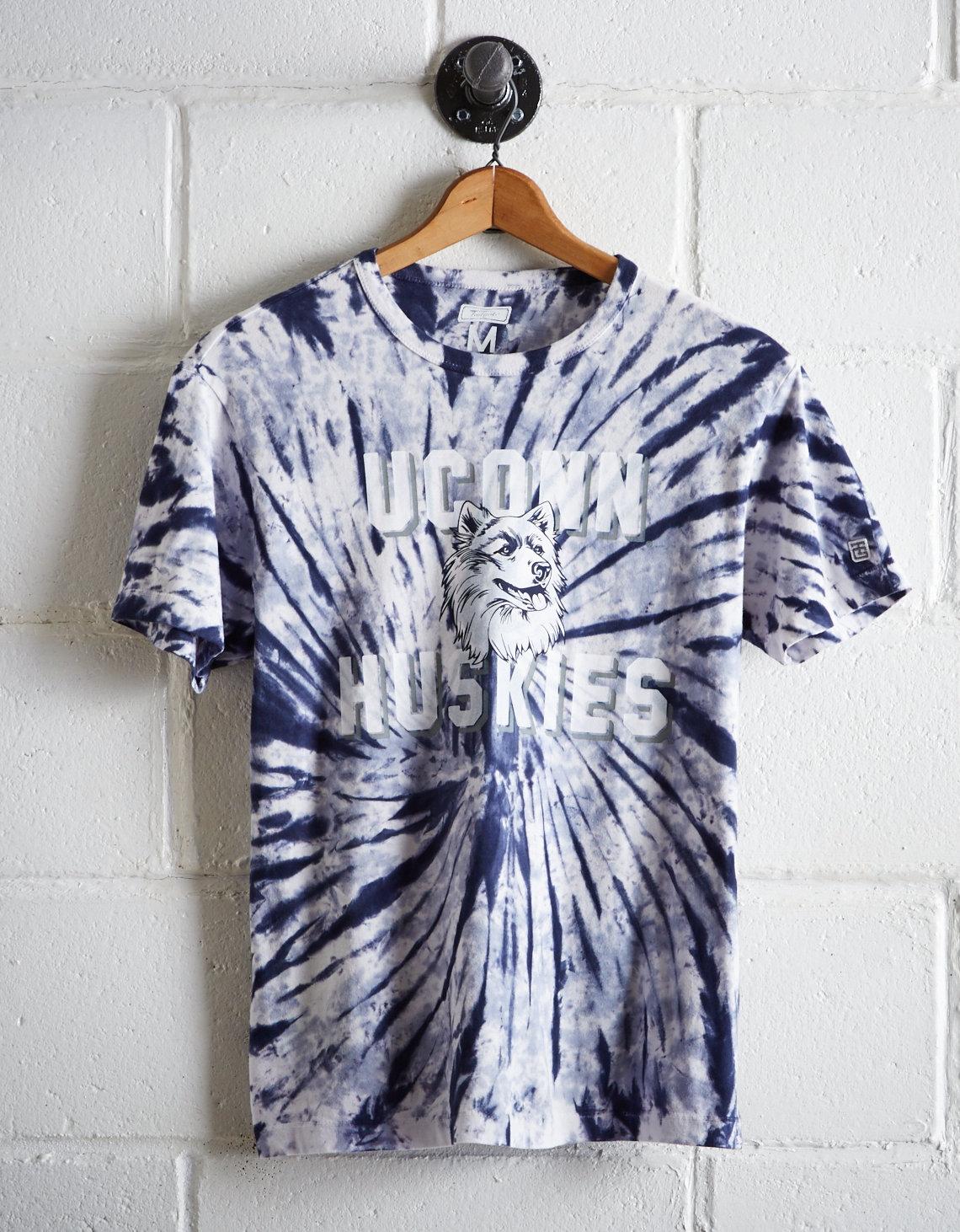 467448d423db Tailgate Men s UCONN Tie-Dye T-Shirt
