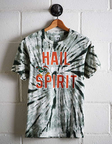 Tailgate Men's Miami Tie-Dye T-Shirt - Free Returns