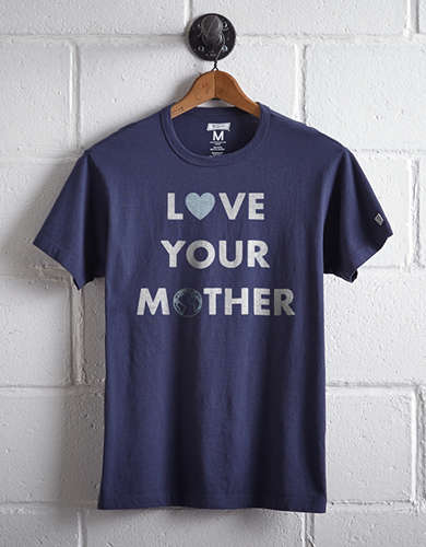 Tailgate Men's Love Your Mother T-Shirt - Free Returns