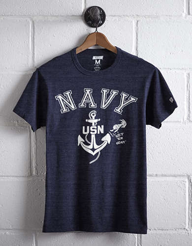 Tailgate Men's Navy T-Shirt -