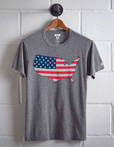 Tailgate Men's USA T-Shirt - Free Returns