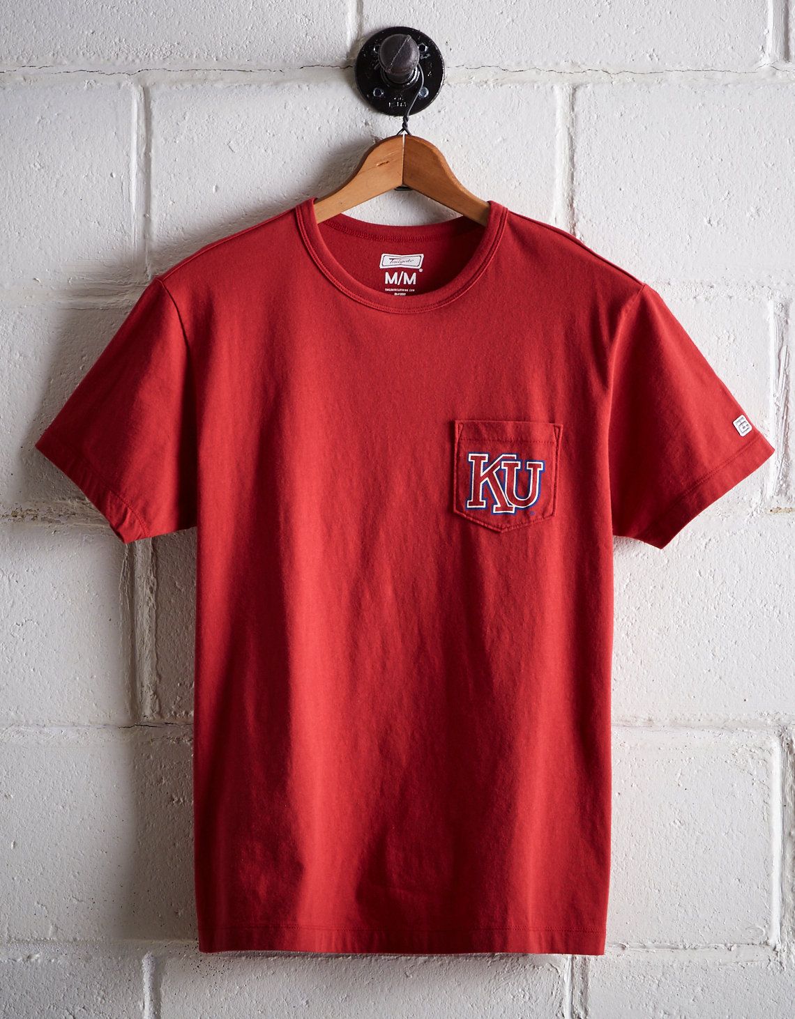 Tailgate Men's Kansas PHOG Pocket Tee