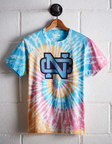 Tailgate Men's UNC Tie-Dye T-Shirt - Free Returns