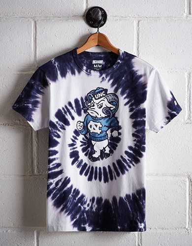 Tailgate Men's Tar Heels Tie-Dye T-Shirt - Free Returns