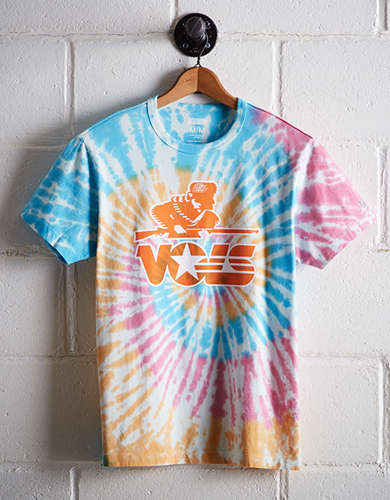 Tailgate Men's Vols Rainbow Tie-Dye T-Shirt - Free Returns