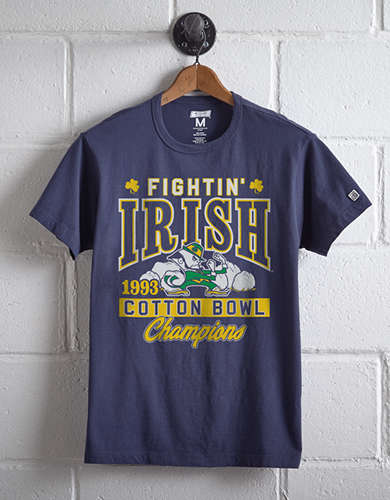 Tailgate Men's Notre Dame Cotton Bowl T-Shirt -